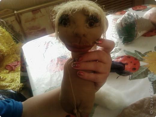мы с дочерью увлеклись куклами,это первая.Зовут Нафаней. фото 7