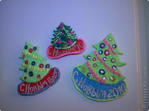 Лепка: Подарочные магниты к Новому году