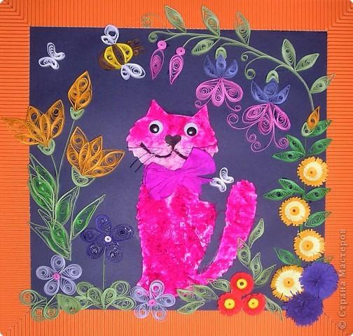 "Малиновая кошка (навеяно стихотворением Юнны Мориц ""Малиновая кошка"")"