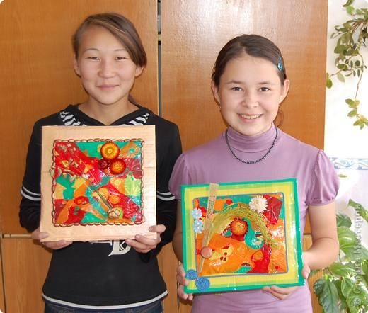 Знакомьтесь - Ченчаева Айару и Сысоева Яна со своими работами. фото 1
