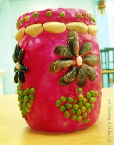 Не определена: Баночки, украшенные семенами фото 6