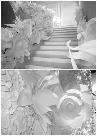 Бумажные цветы от Шанель фото 1