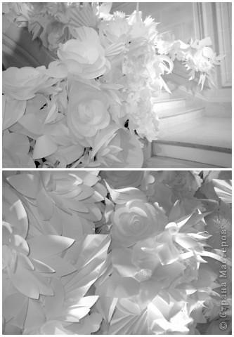 Бумажные цветы от Шанель фото 2