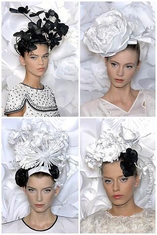 Бумажные цветы от Шанель фото 4