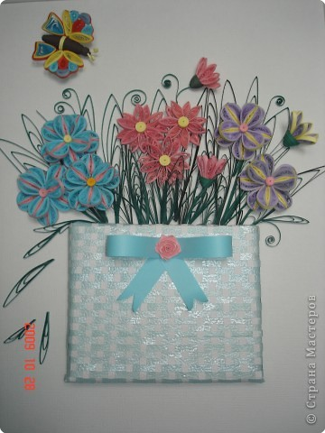 Квиллинг: Мои цветочки фото 1