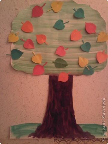 Дерево-наглядка фото 2