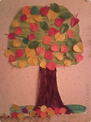 Дерево-наглядка фото 1
