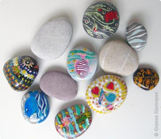 Морские камушки.