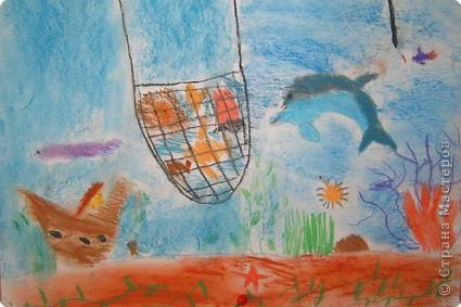 Представляю работы своего сына Василия, ему 9 лет. На дне! фото 1
