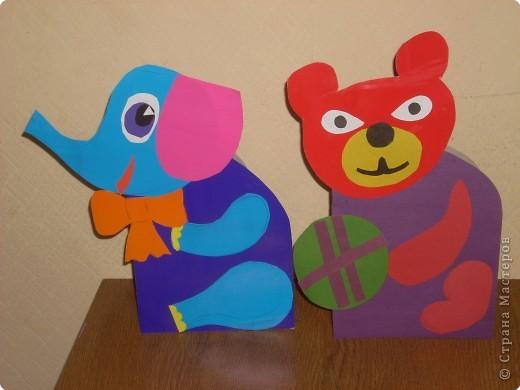 Открытки из картона, выполнены ребятами третьего класса. фото 2