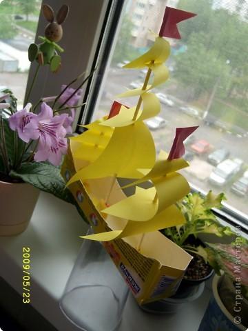 Оригами. Корабли фото 3