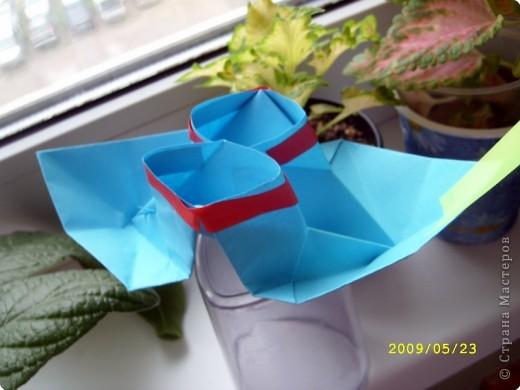 Оригами. Корабли фото 1