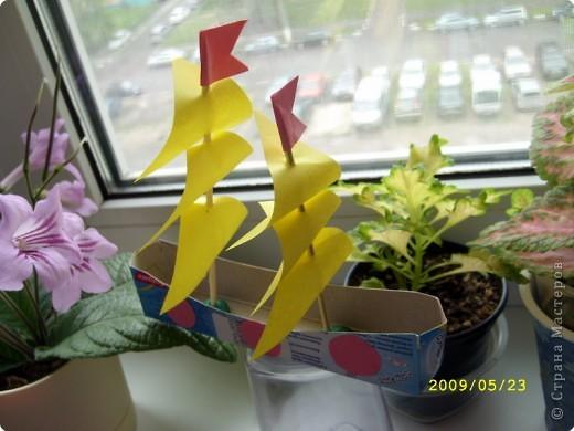 Оригами. Корабли фото 4