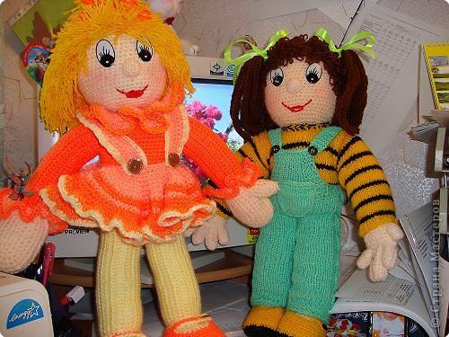 Спасибо Нели Болгерт, ее куклы очень понравились , связала свои. фото 3