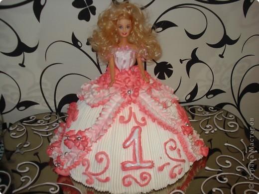 Тортик  сделан по заказу.Племяшке был годик. фото 1