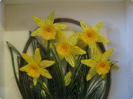 Вот такие весенние цветы я сделала осенью фото 2
