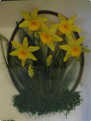Вот такие весенние цветы я сделала осенью фото 3