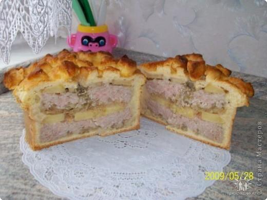 Пирог с мясом. фото 5