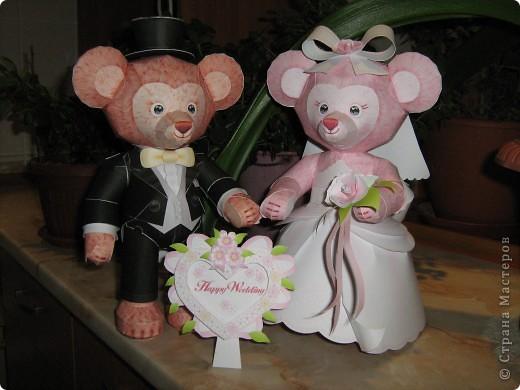 Медвежата (жених с невестой)