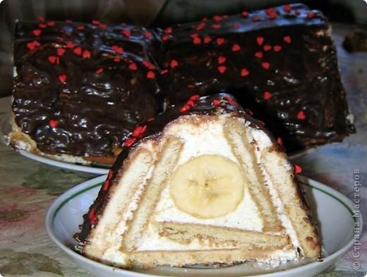 В качестве начинки для этого торта можно использовать любые фрукты и ягоды по вашему усмотрению, если используете курагу или чернослив их необходимо не на долго замочить в воде, чтобы стали мягче. фото 1