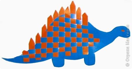 Плетение: Динозаврик