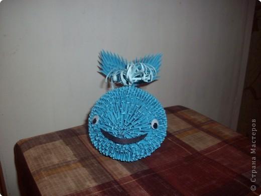 Модульное оригами - Кит.