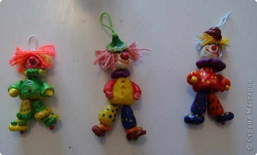 Игрушки-дергунчики из соленого теста. Работы   Кати Багровой,Алины Курбановой и Анжелики Артемовой фото 1