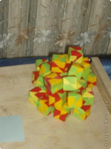 Кусудама: кубики фото 2