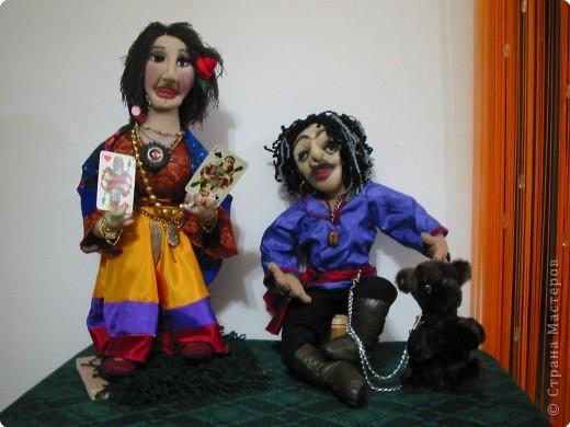 Куклы из чулка, медвежонок -искусственный  мех