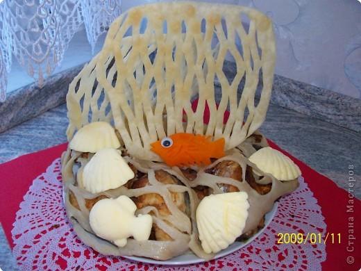 Из 12 кексов выложить черепашку, украсить кремом. фото 5