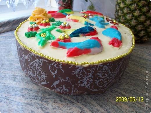 """торт """"Райский сад"""" фото 1"""