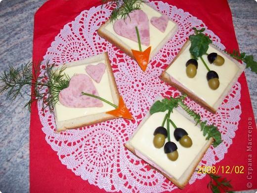 Бутерброды фото 2