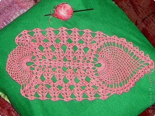 Вязание крючком: Салфетки фото 3