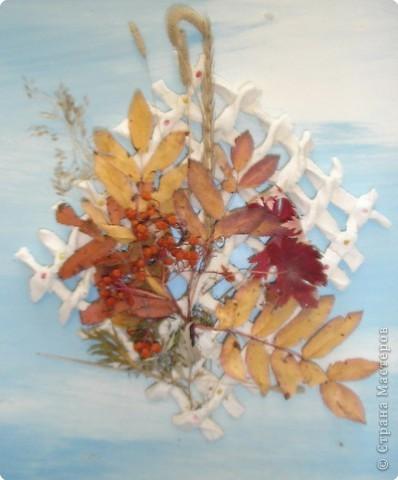 Лепка: Осень, осень...