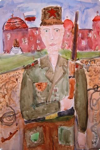 Представляю работы своего сына Василия, ему 9 лет. На дне! фото 4