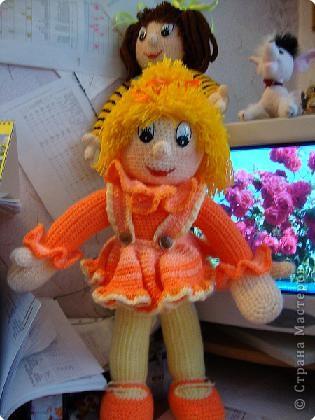Спасибо Нели Болгерт, ее куклы очень понравились , связала свои. фото 1