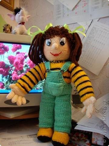 Спасибо Нели Болгерт, ее куклы очень понравились , связала свои. фото 2