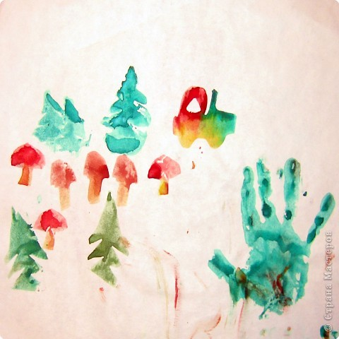 Отпечатки ладошек: Каля-маля (отпечатки) фото 2
