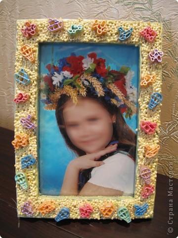 Как сделать рамку для фото ребенка своими руками