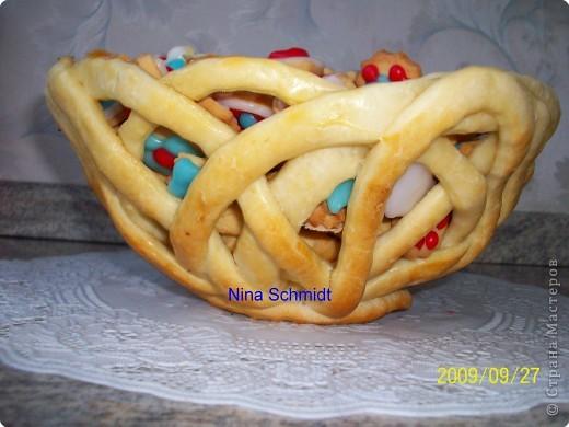 Корзинка с печеньем. фото 2