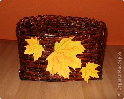 Плетение: Осень