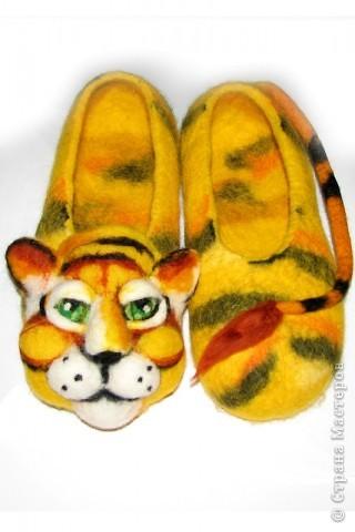 В год тигра,в тигровых тапках!