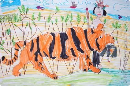 Представляю работы своего сына Василия, ему 9 лет. На дне! фото 10