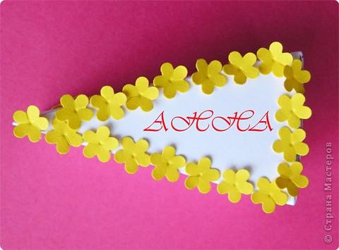 Мастер-класс Поделка изделие День рождения Аппликация Бумагопластика Квиллинг Торт с сюрпризом Бумага фото 9