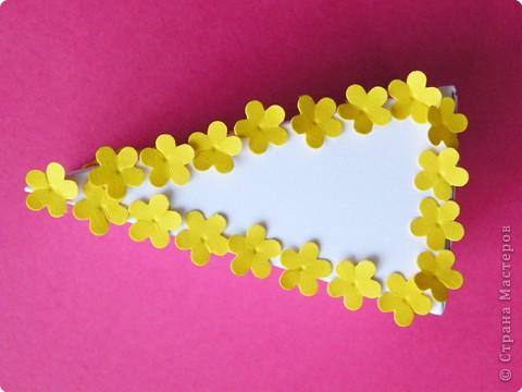 Мастер-класс Поделка изделие День рождения Аппликация Бумагопластика Квиллинг Торт с сюрпризом Бумага фото 7