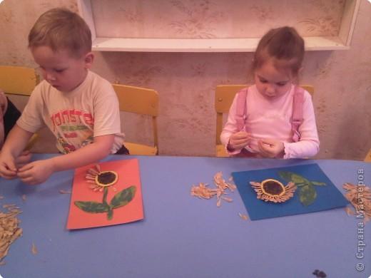 Творческий процесс и довольные детишки фото 1