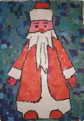 Мозаика: Дед Мороз