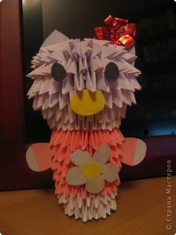 Оригами модульное: Hello Kitti