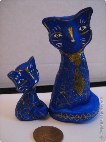 Синие коты!