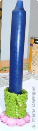 Лепка: Подсвечники  из солёного теста фото 2